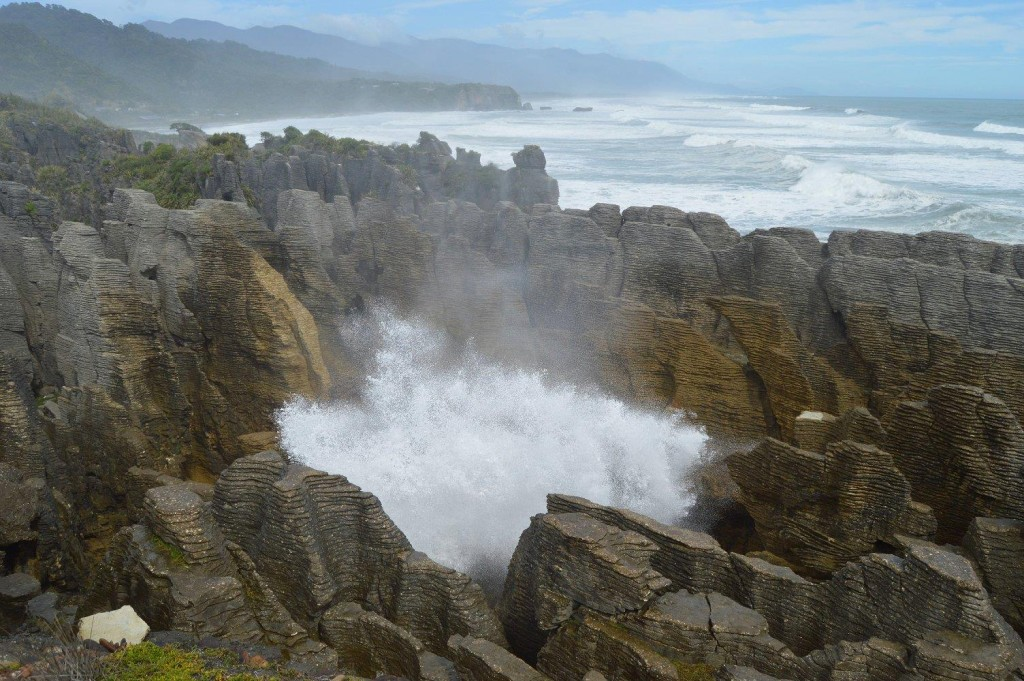 Pancake Rocks & Blowhole in Punakaiki