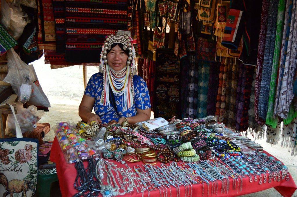 Akha Tribeswoman