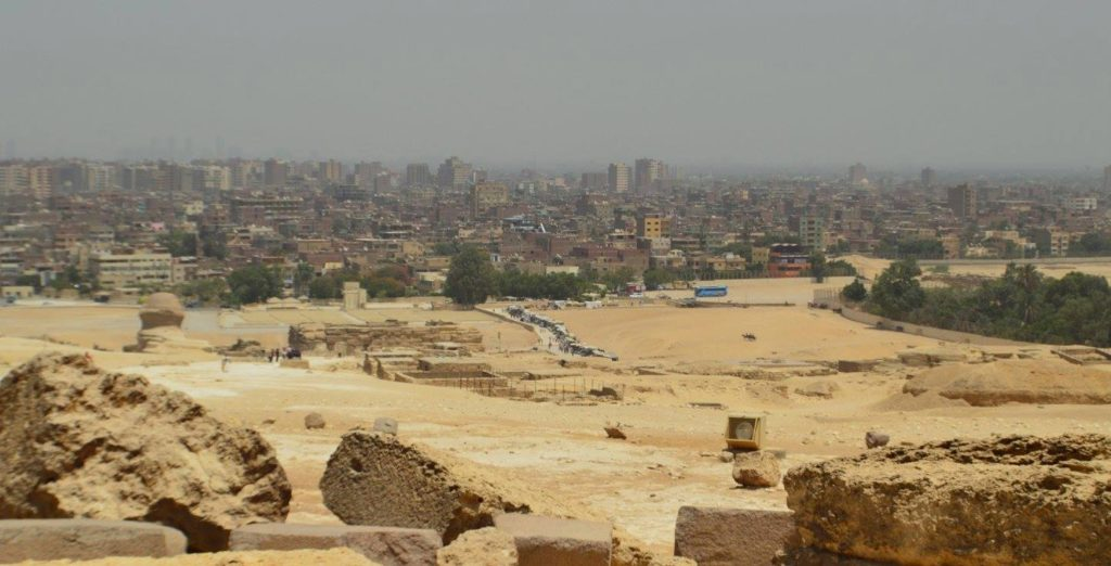 Cairo from Giza