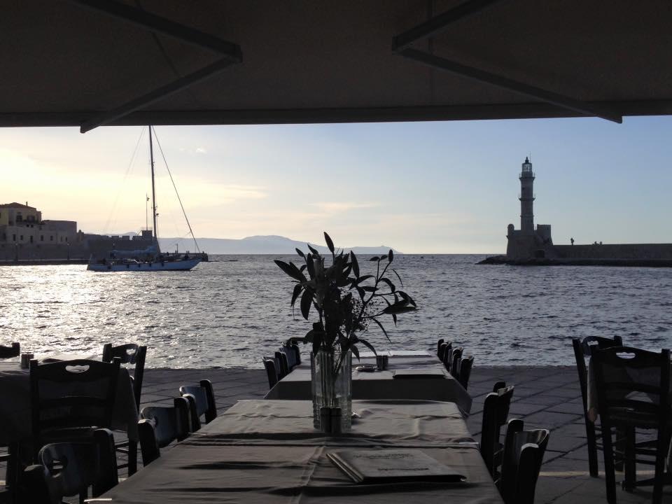 Chania's Venetian Harbor and Lighthouse