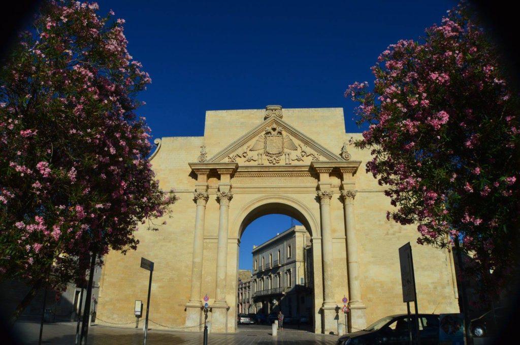 One of three walls around Lecce