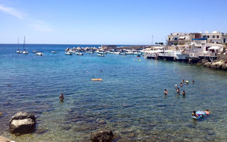 Santa Caterina di Nardo clear blue waters