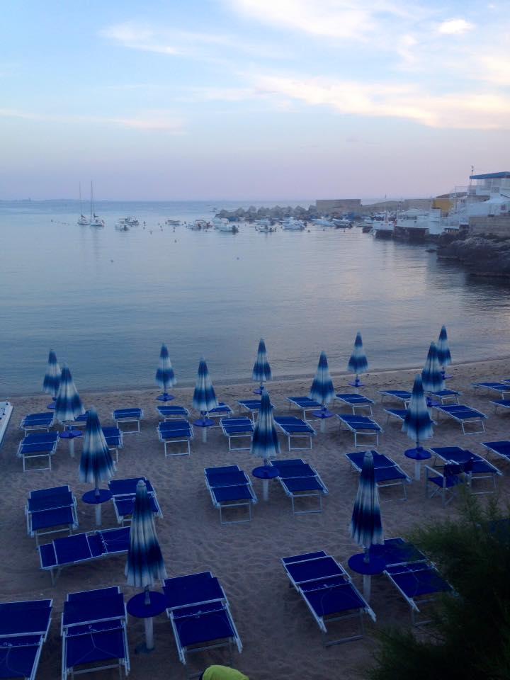 Santa Caterina di Nardo beach at sunset