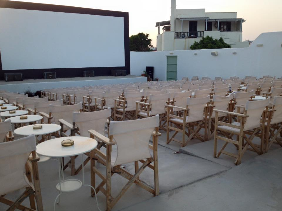 Naxo outdoor cinema