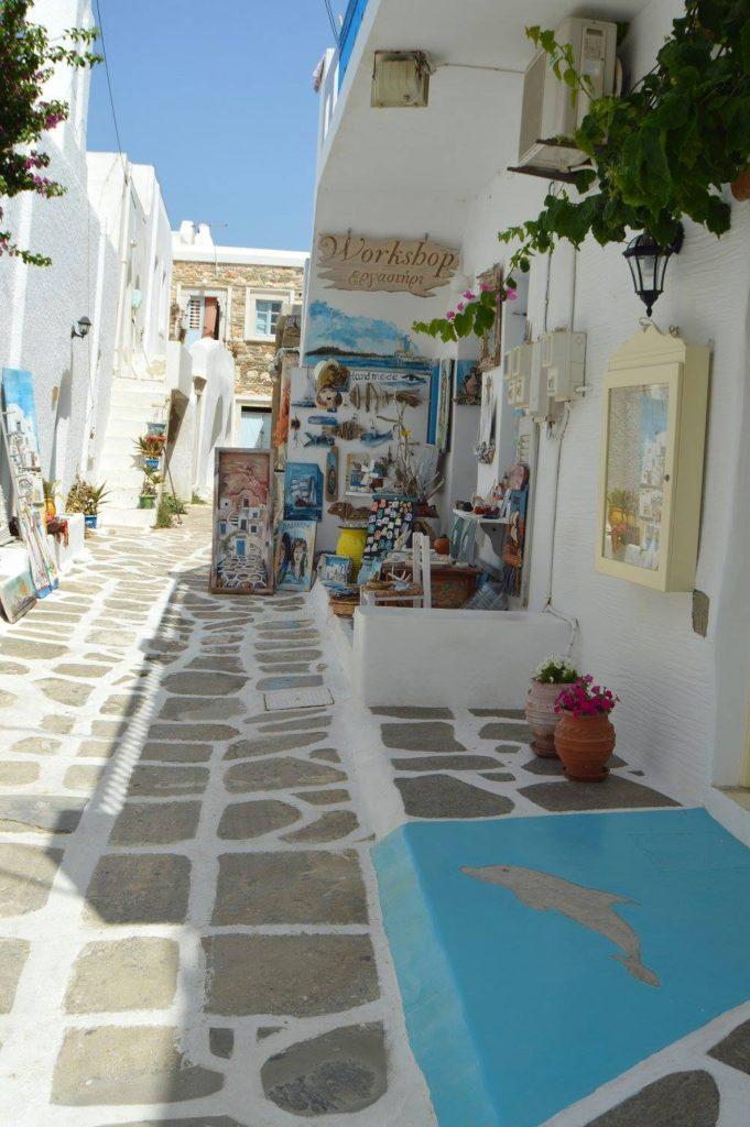 Paros alleyway