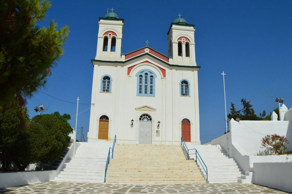 Church in Noussa, Paros