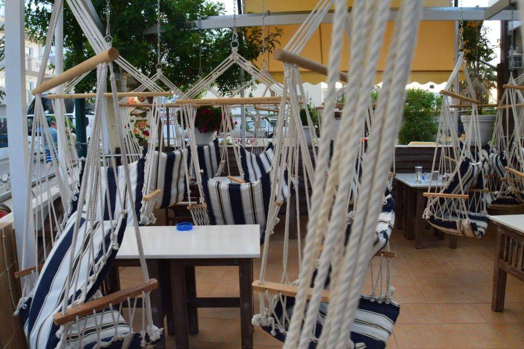 Swings seats at a bar - Malia